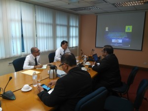 Discussion with Director of Competency Enhancement Centre (IDFR)
